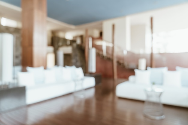 Abstracte vervagen hotellobby