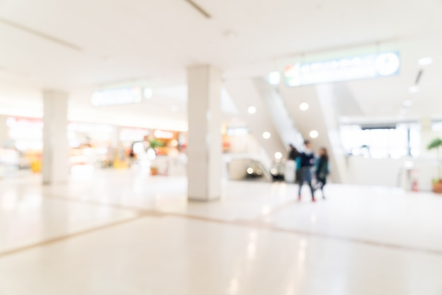 Abstracte vervagen luchthaven interieur