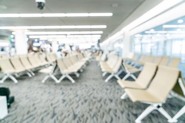 Abstracte vervagen luchthaven voor achtergrond