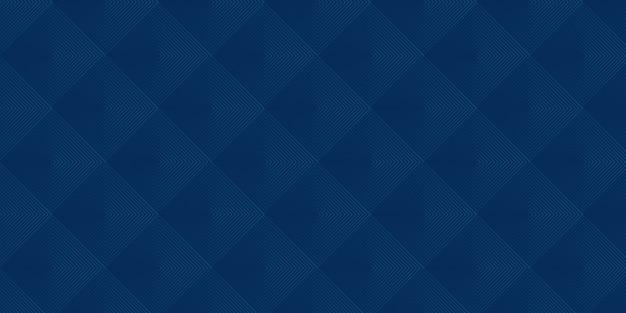Abstracte vierkante blauwe patroonachtergrond met modern bedrijfsconcept