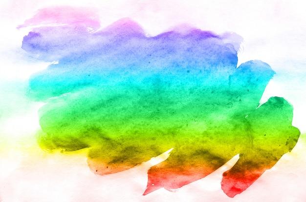 Abstracte waterverf van multi-gekleurde inktvlekken van alle spectrale kleuren