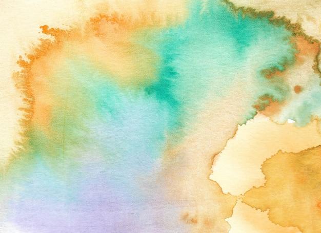 Abstracte waterverfachtergrond. handgeschilderde illustratie