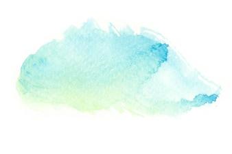 Abstracte waterverfachtergrond.