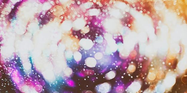 Abstracte wazig licht achtergrond, feestelijke elegante abstracte achtergrond met bokeh lichten en sterren