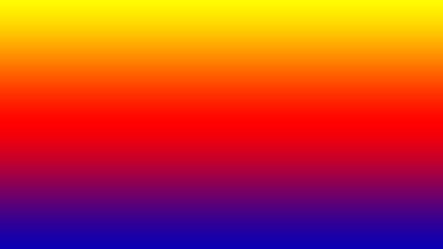 Abstracte wazig verloop achtergrond. mesh achtergrond met felle kleuren in geel, rood, oranje, blauw.