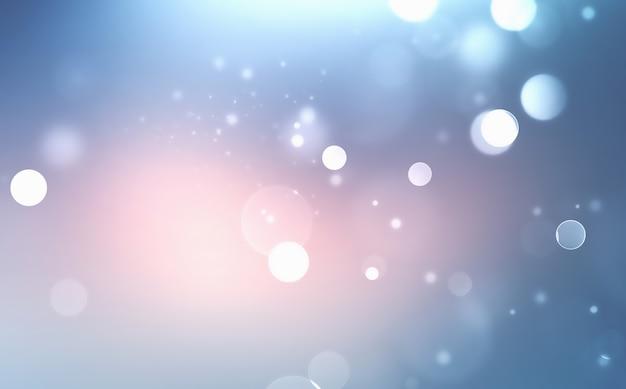 Abstracte winter wazige achtergrond met zacht licht bokeh-effect