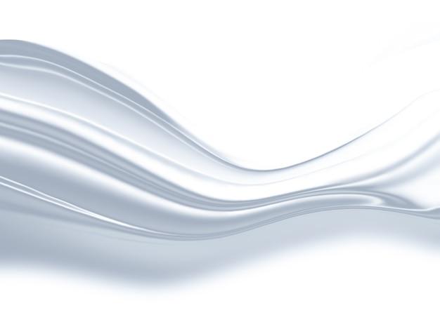 Abstracte witte achtergrond met vloeiende lijnen