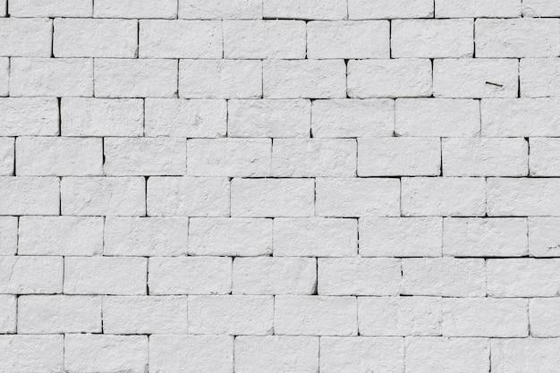 Abstracte witte bakstenen muur achtergrond