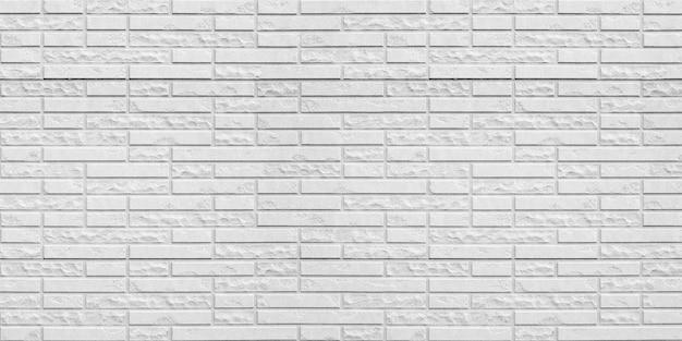 Abstracte witte bakstenen muur textuur achtergrond.