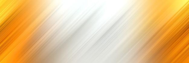 Abstracte witte en gouden diagonale achtergrond
