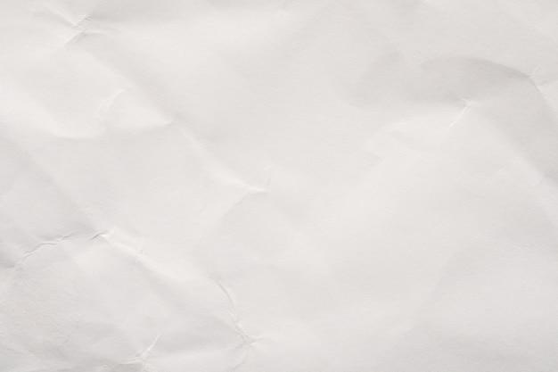 Abstracte witte verfrommeld papier textuur achtergrond