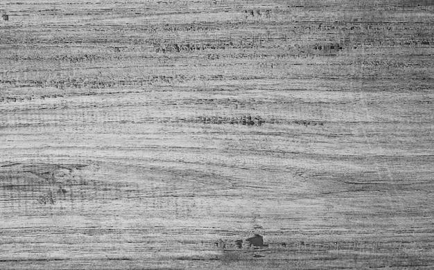 Abstracte zwart-witte houten plank