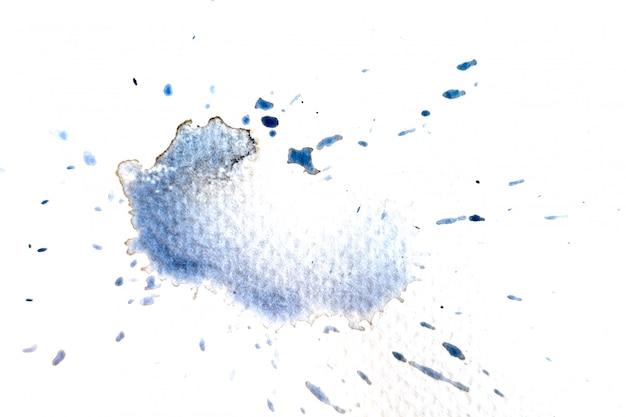 Abstracte zwart-witte waterverflicht geschilderde achtergrond of textuur.
