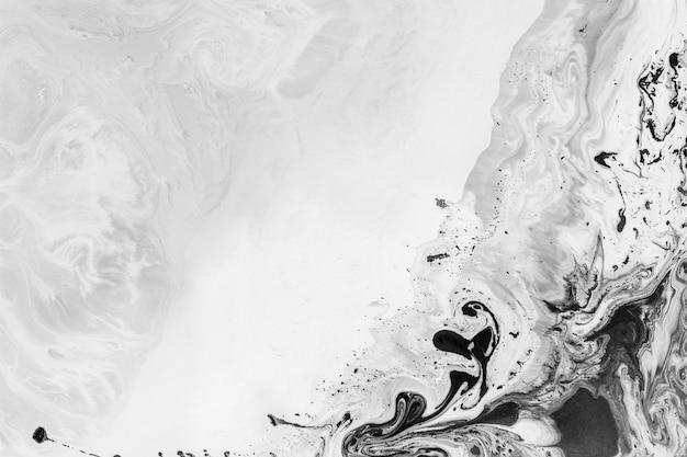 Abstracte zwarte aquarel patroon achtergrond
