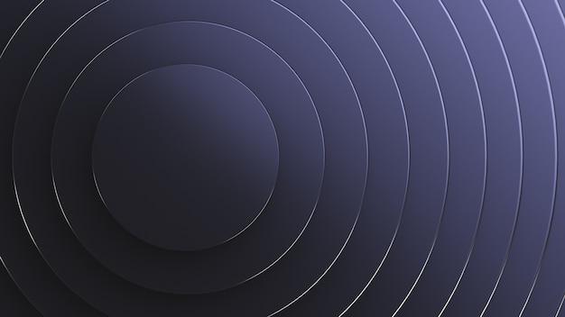 Abstracte zwarte ringenachtergrond.