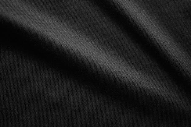 Abstracte zwarte stof doek textuur achtergrond