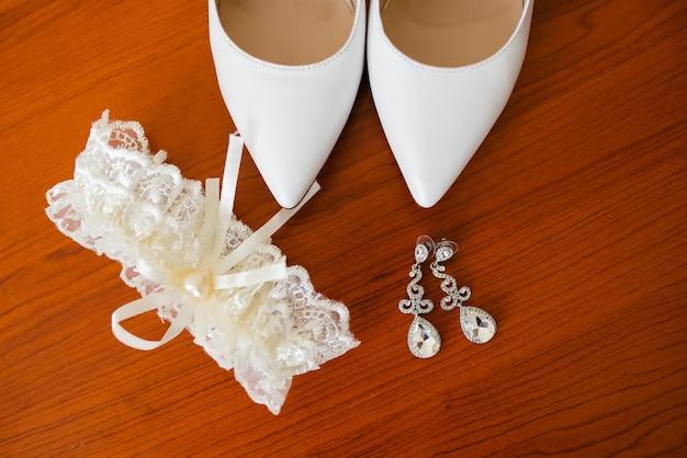 Accessoires van de bruid