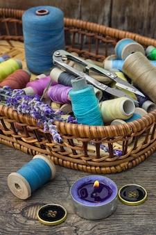 Accessoires voor het naaien