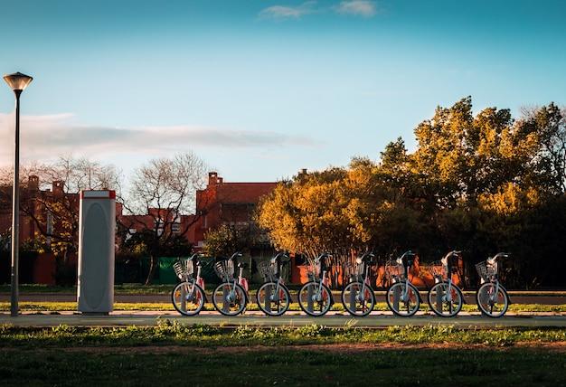 Acht cycli in perfecte vorm
