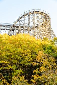 Achtbaan in het park van korea