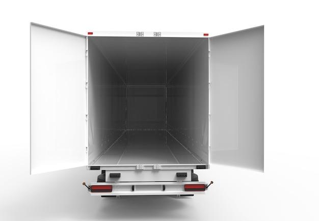 Achter vrachtwagen