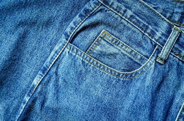 Achtergrond door jeans en jean gebrek