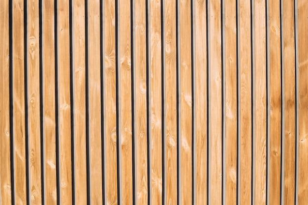 Achtergrond en textuur van decoratief oud hout gestreept op oppervlaktemuur