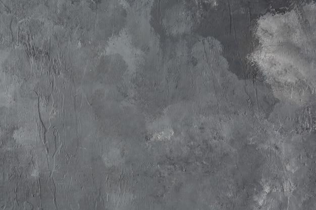 Achtergrond en textuur van grijs geschilderde muur