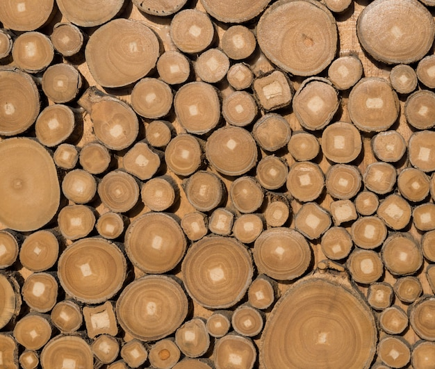 Achtergrond gemaakt van hout.