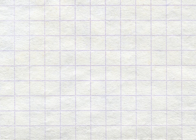 Achtergrond geruit papier textuur