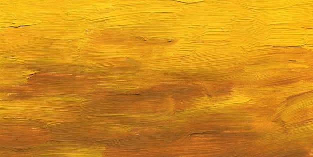 Achtergrond geschilderd in geel lichtbruin, de textuur is penseelstreek