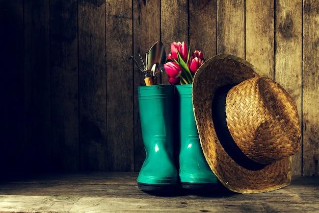 Achtergrond hoed hulpmiddel zorg schuur