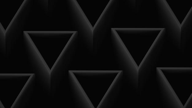 Achtergrond in donkere kleuren met driehoekige elementen