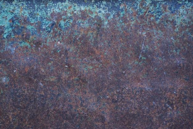Achtergrond lege bruine roestige steen of metalen oppervlaktetextuur
