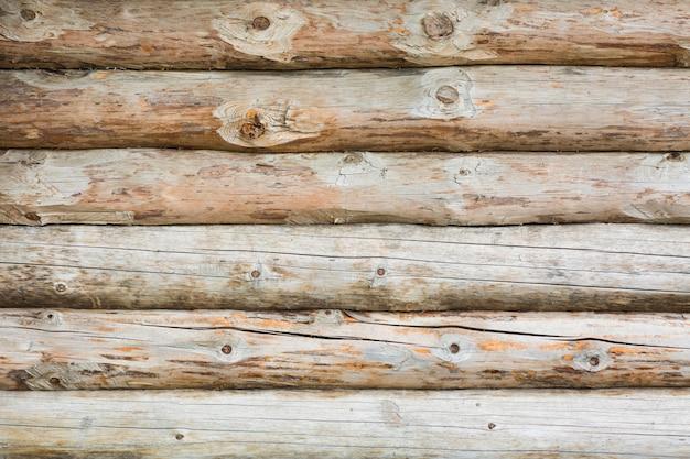 Achtergrond log muur.