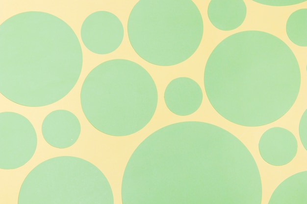 Achtergrond met abstracte cirkel ontwerpelementen