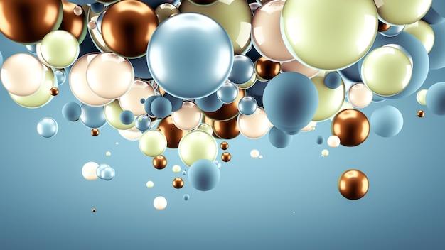 Achtergrond met kleurrijke ballen