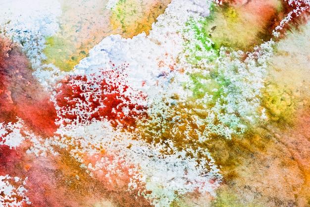 Achtergrond met kleurrijke vlekken en sprays