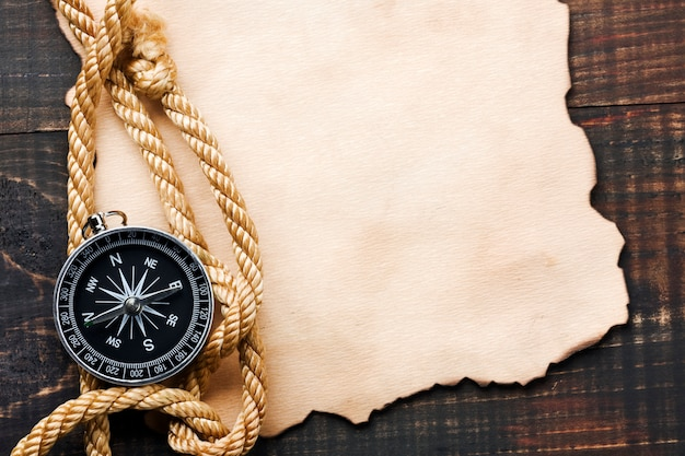 Achtergrond met kompas