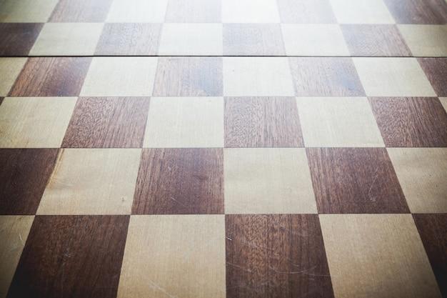 Achtergrond met vintage schaakbord