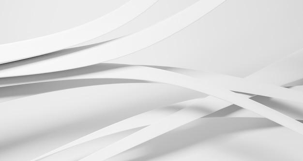 Achtergrond met witte ronde lijnen