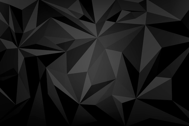 Achtergrond met zwart kristalpatroon