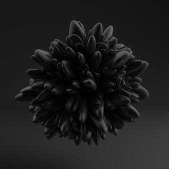 Achtergrond met zwarte vorm, textuur.