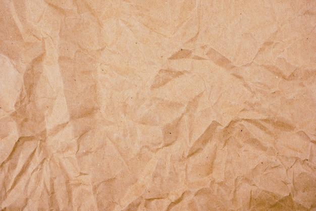 Achtergrond oude bruine verfrommelde document textuur