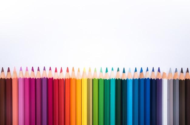 Achtergrond potloden