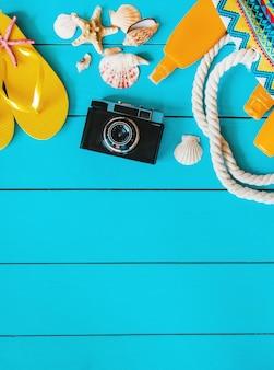 Achtergrond reis. zeetour, items. selectieve aandacht.