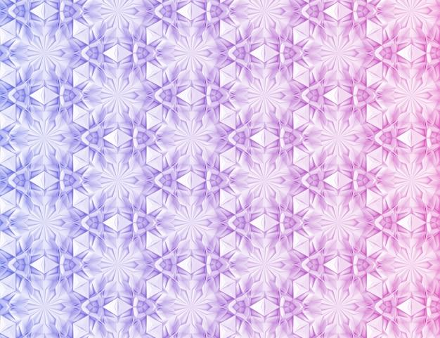 Achtergrond textuur van complexe geometrische elementen met elkaar verweven 3d illustratie