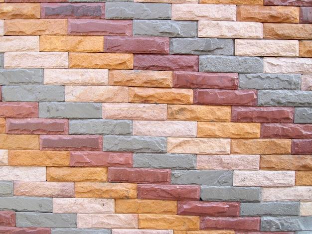 Achtergrond van bakstenen muurtextuur