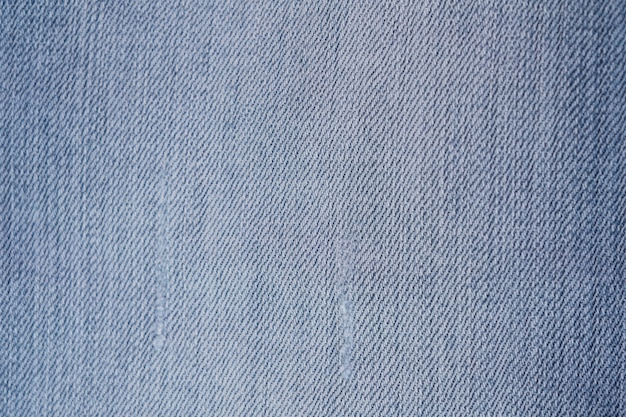 Achtergrond van de blauwe textuur van denimjean.