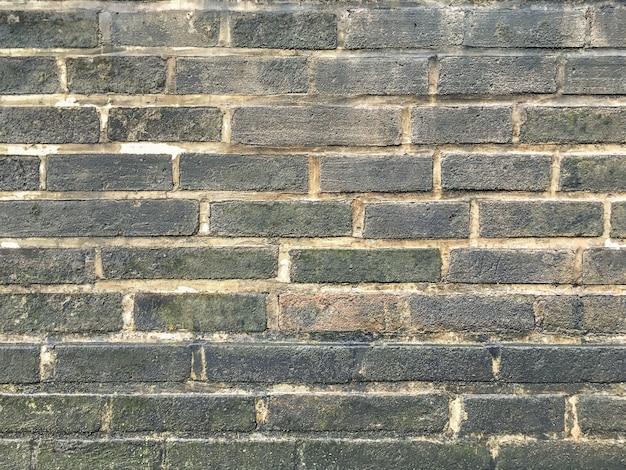 Achtergrond van de grunge de grijze bakstenen muur